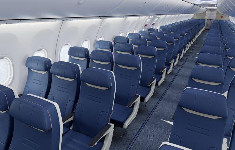 فضای داخلی هواپیما