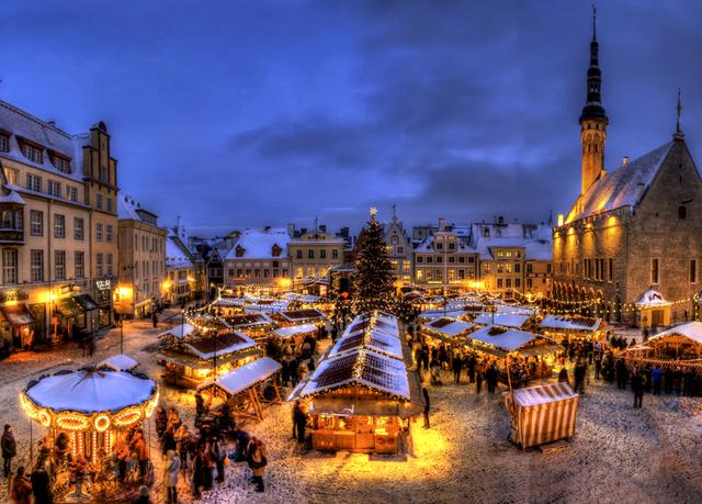 بازارهای کریسمس استونی