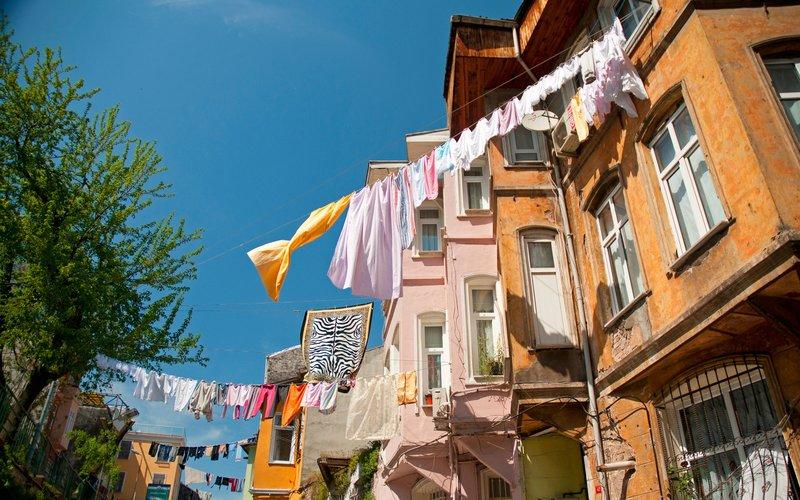 بلاط استانبول ترکیه رنگارنگ