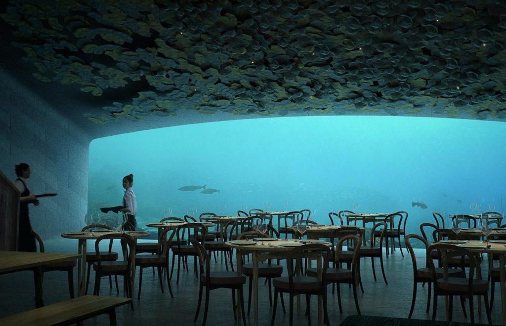 رستوران زیر آب | نروژ