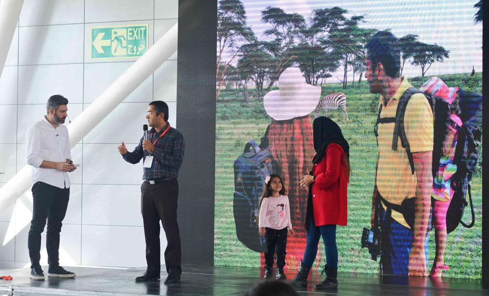 سفر ماجراجویی خانوادگی   تهران تراول شو
