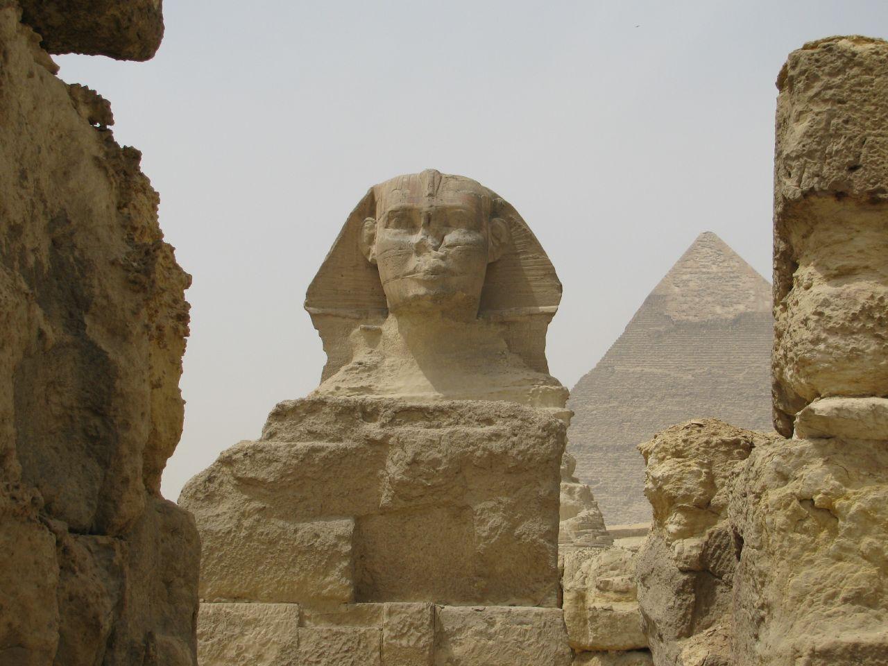 مجسمه ابوالهول در مصر