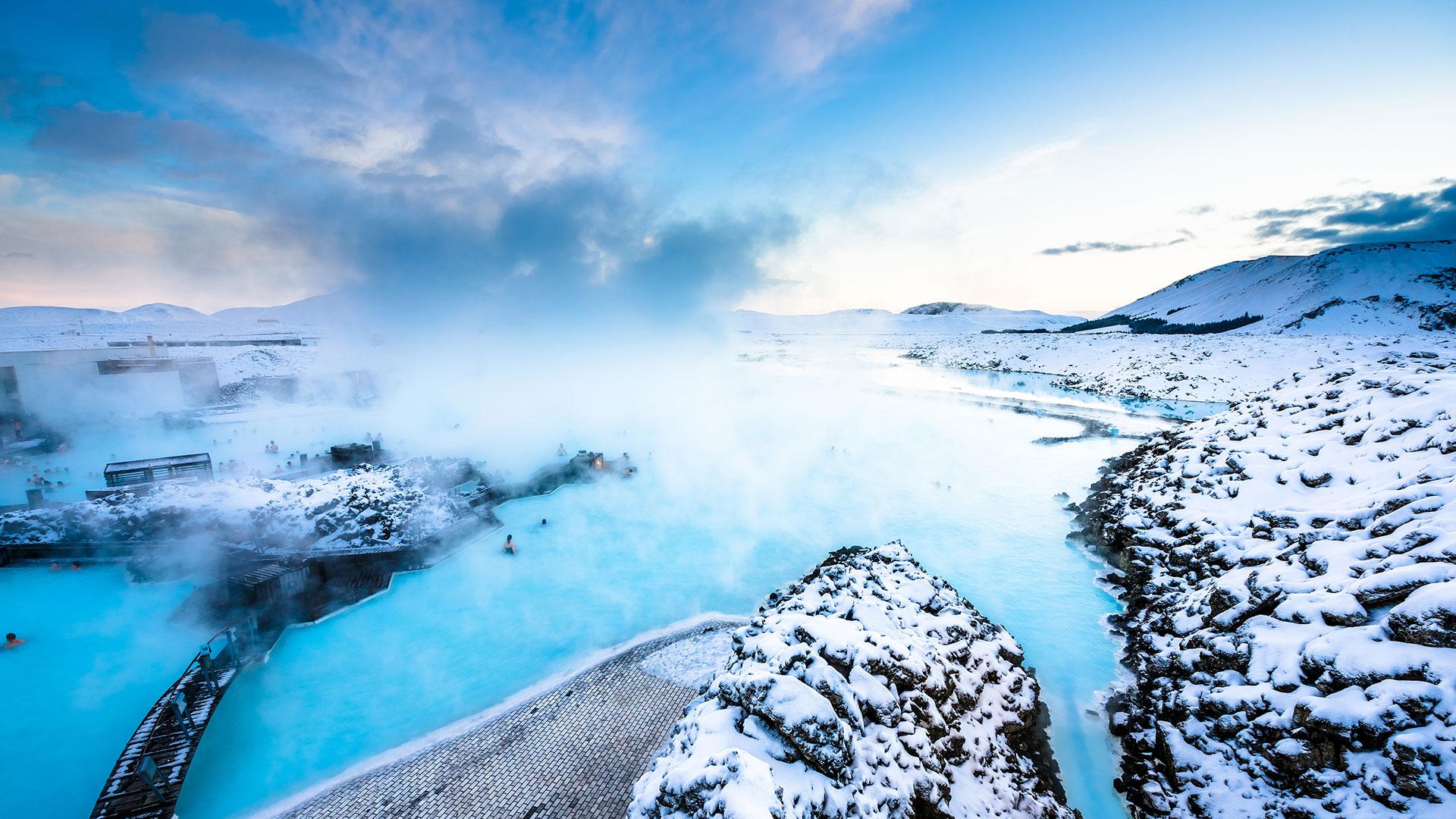 تالاب آبی ایسلند