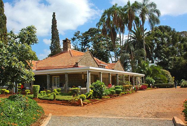 نمایی از یک خانه در نایروبی