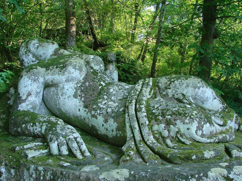 اسرار باغ مقدس بومارزو