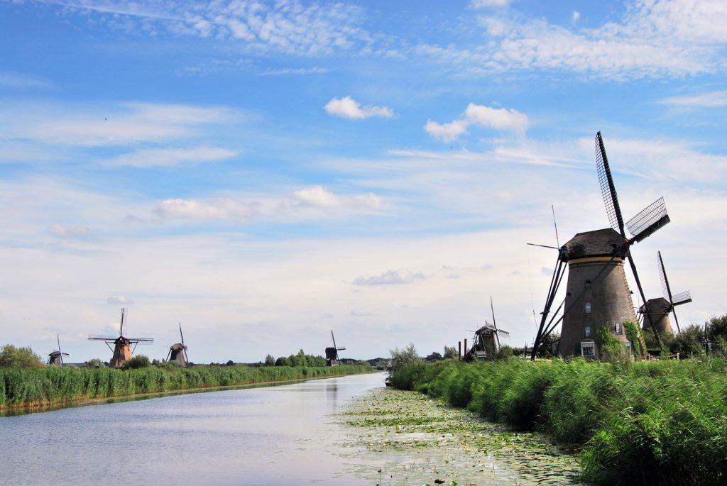 آسیاب بادی کیندردیک هلند