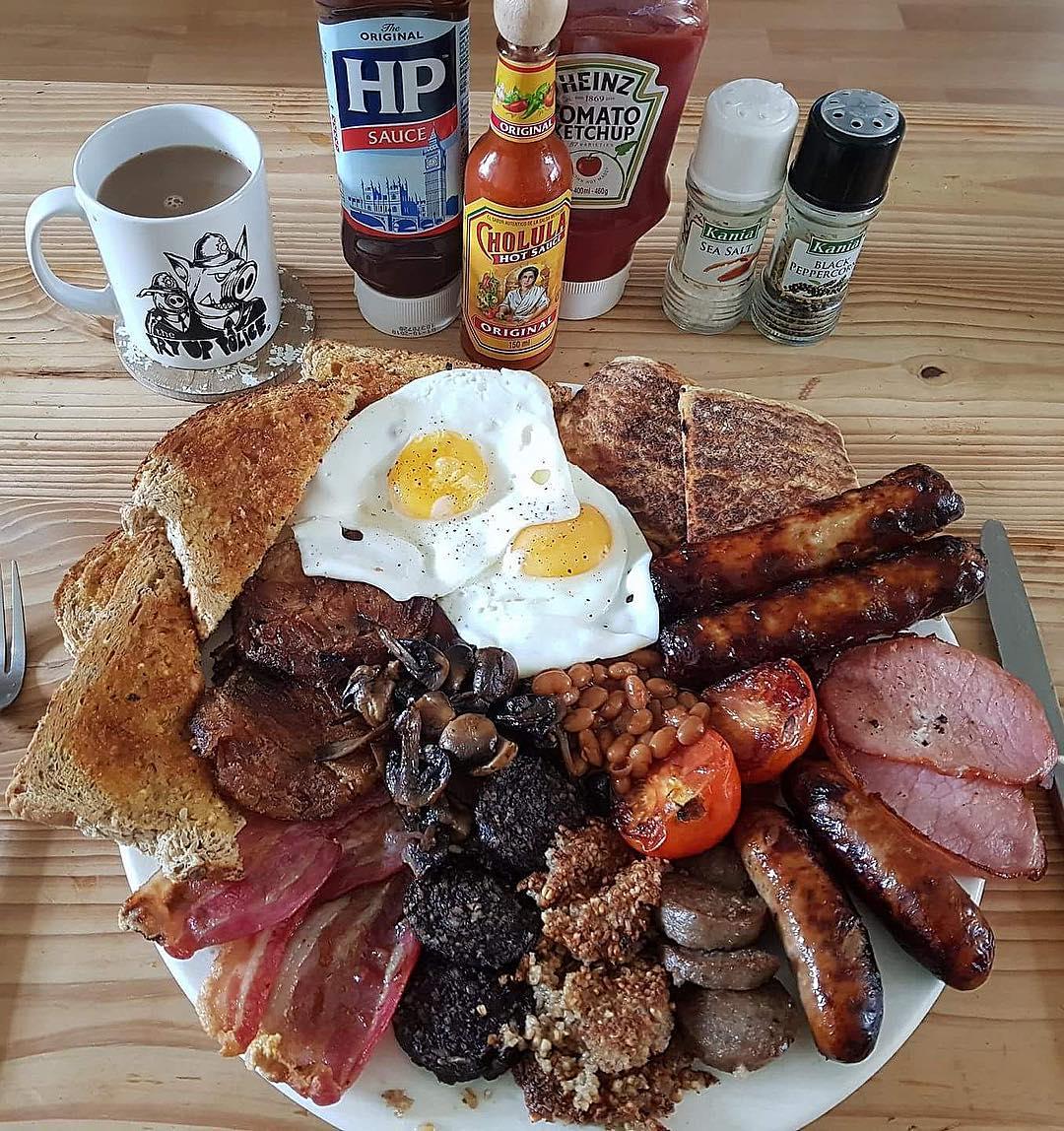 صبحانه انگلیسی| انگلستان