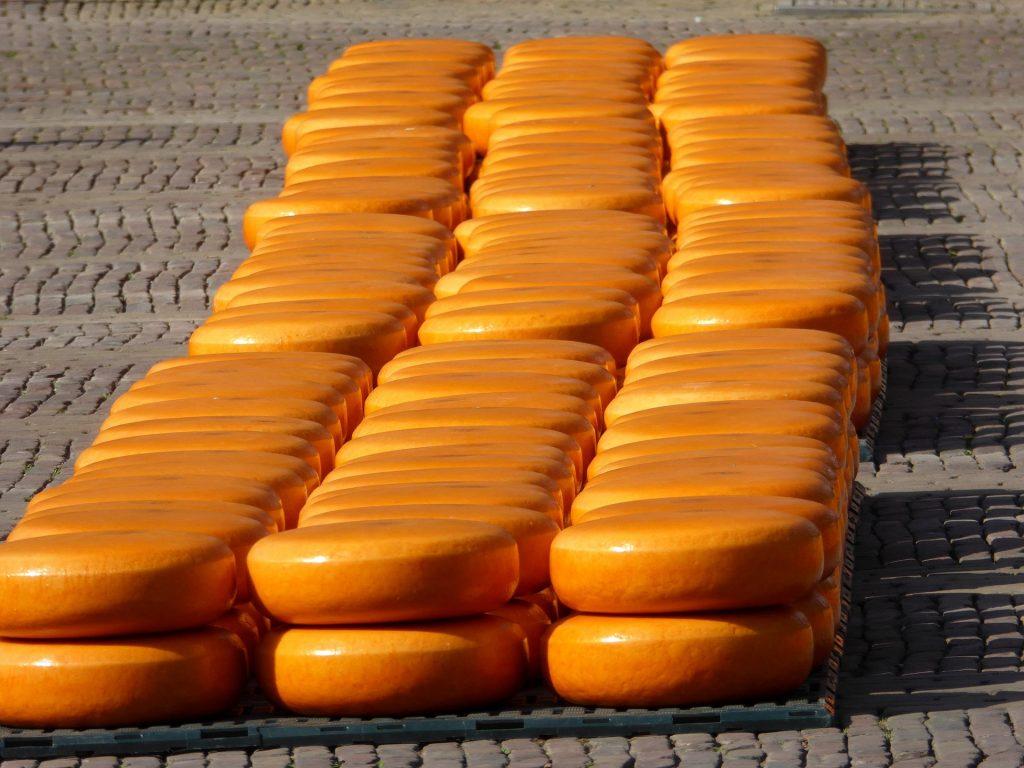 بازار پنیر هلند