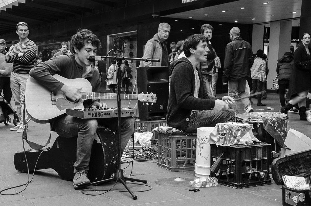 موسیقی خیابانی ملبورن