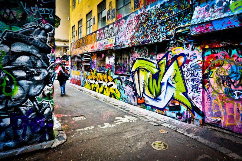 هنرهای خیابانی ملبورن