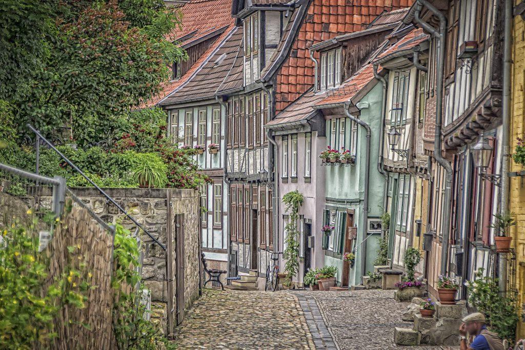 مکان رمانتیک و ارزان در آلمان   کوئدلینبورگ