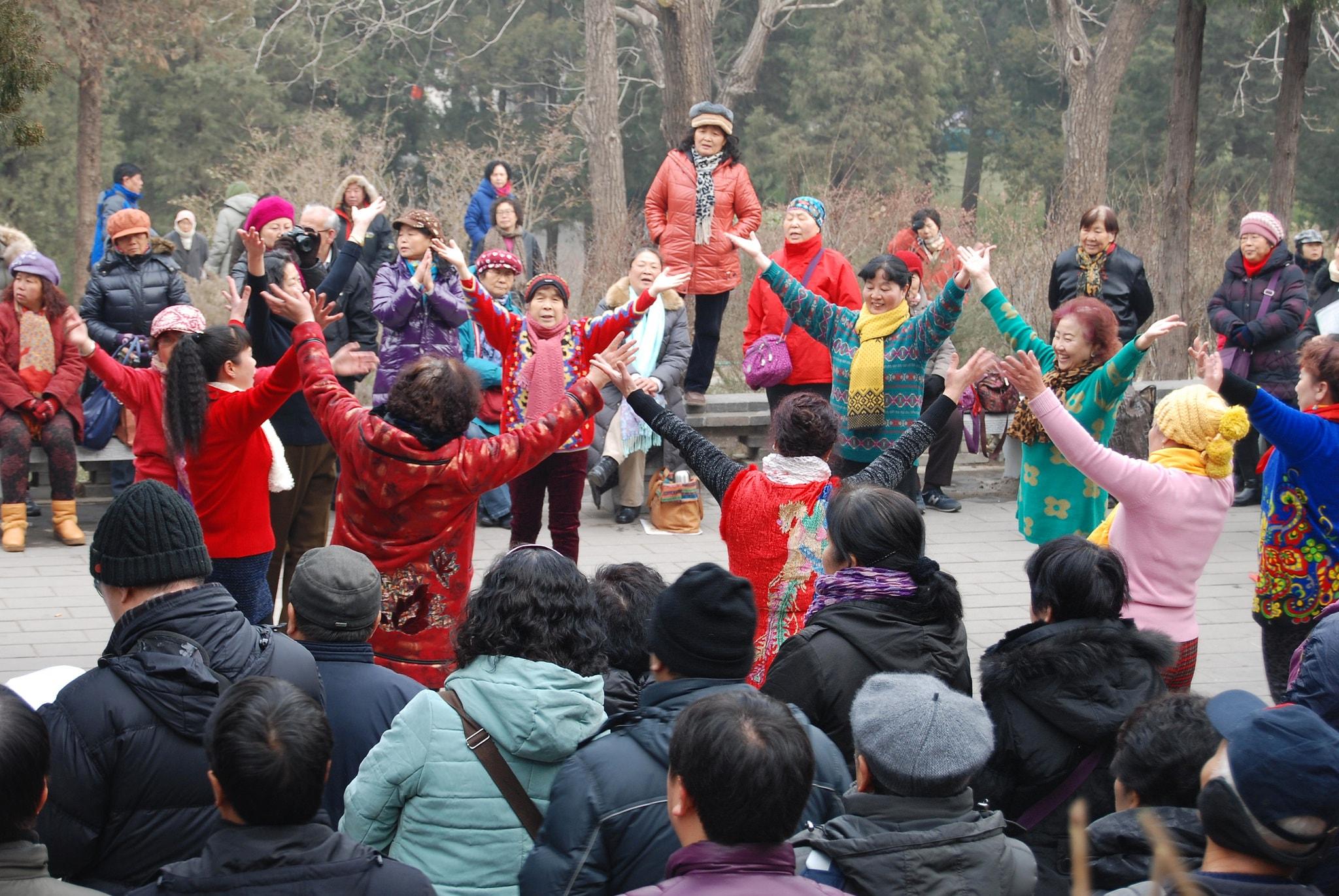 مردم میانسال در چین
