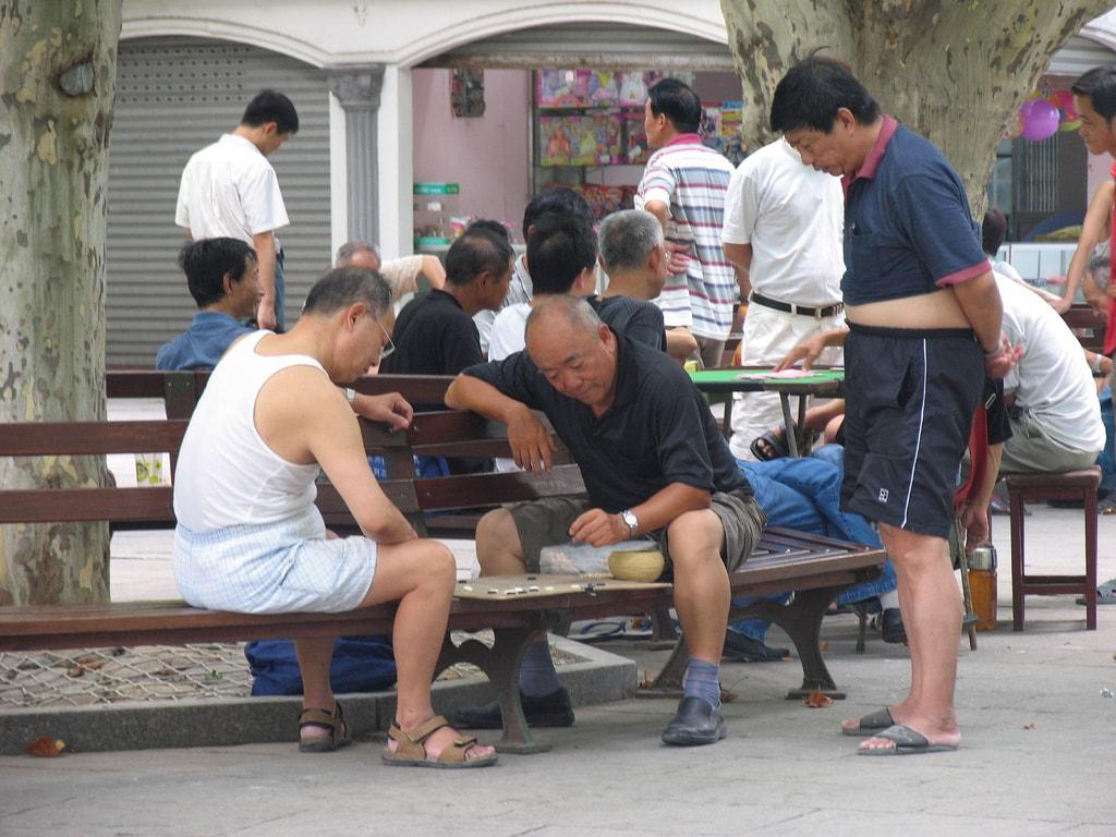 لباس پوشیدن مردم چین