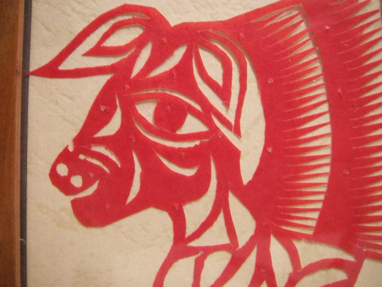 سوغات چین - هنر کاغذی