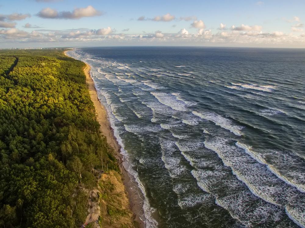 خط ساحلی | لیتوانی