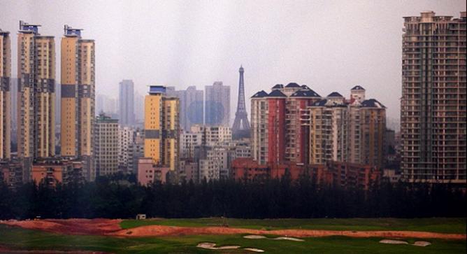 عجیب ترین بناهای چین