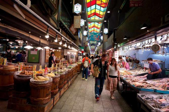 بازار-نیشیکی-کیوتو
