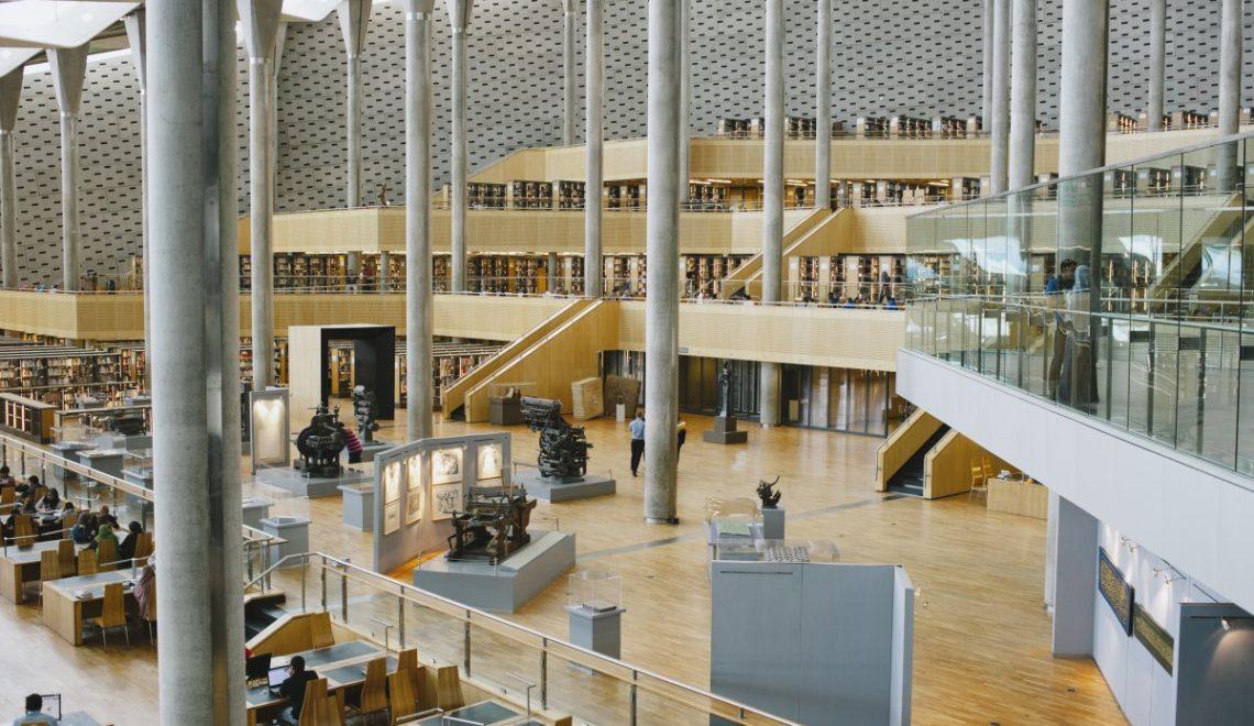 کتابخانه مصر