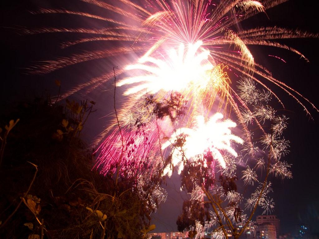 سال نو در آنتالیا | ترکیه