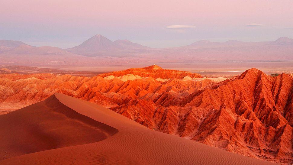 خشک ترین بیابان دنیا شیلی