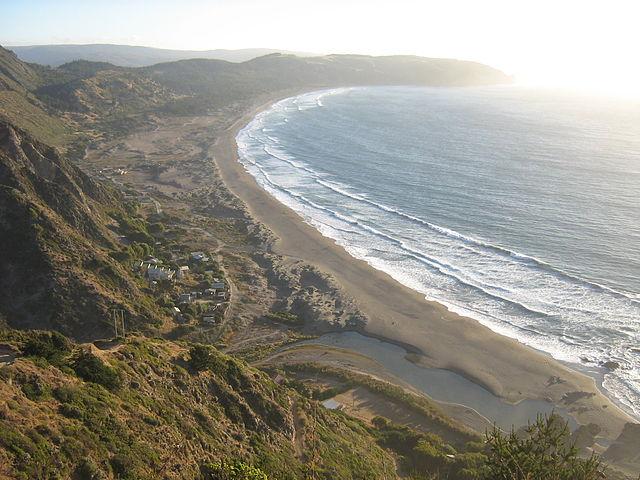 بلندترین خط ساحلی شیلی