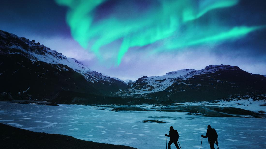 شفق قطبی/ایسلند