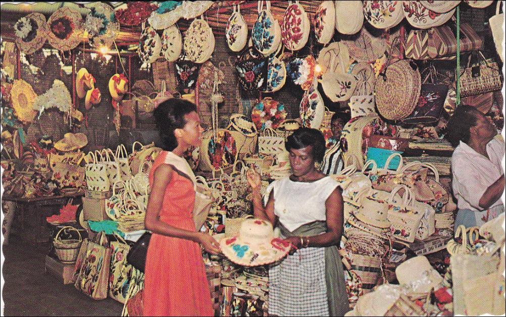 بازار صنایع دستی کینگستون | جامایکا
