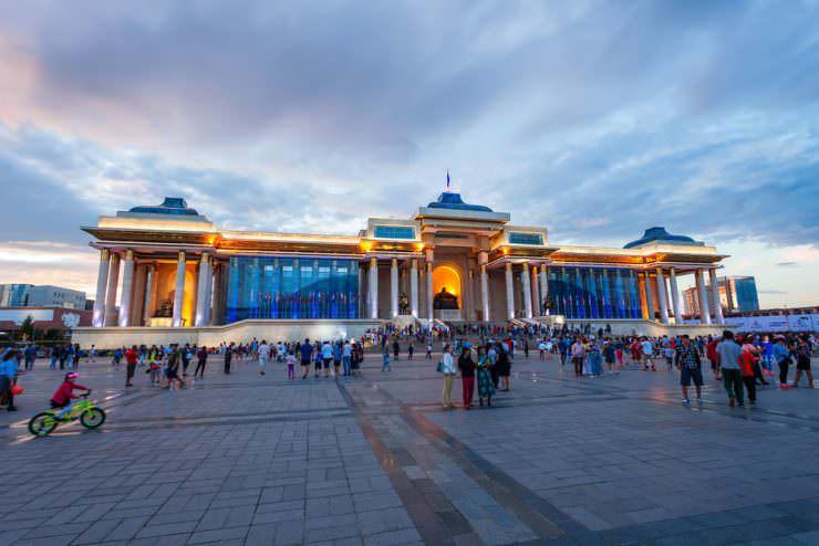 شهر اولان باطور مغولستان