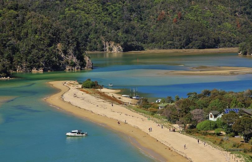 پارک ملی آبِل تاسمان، نیوزیلند