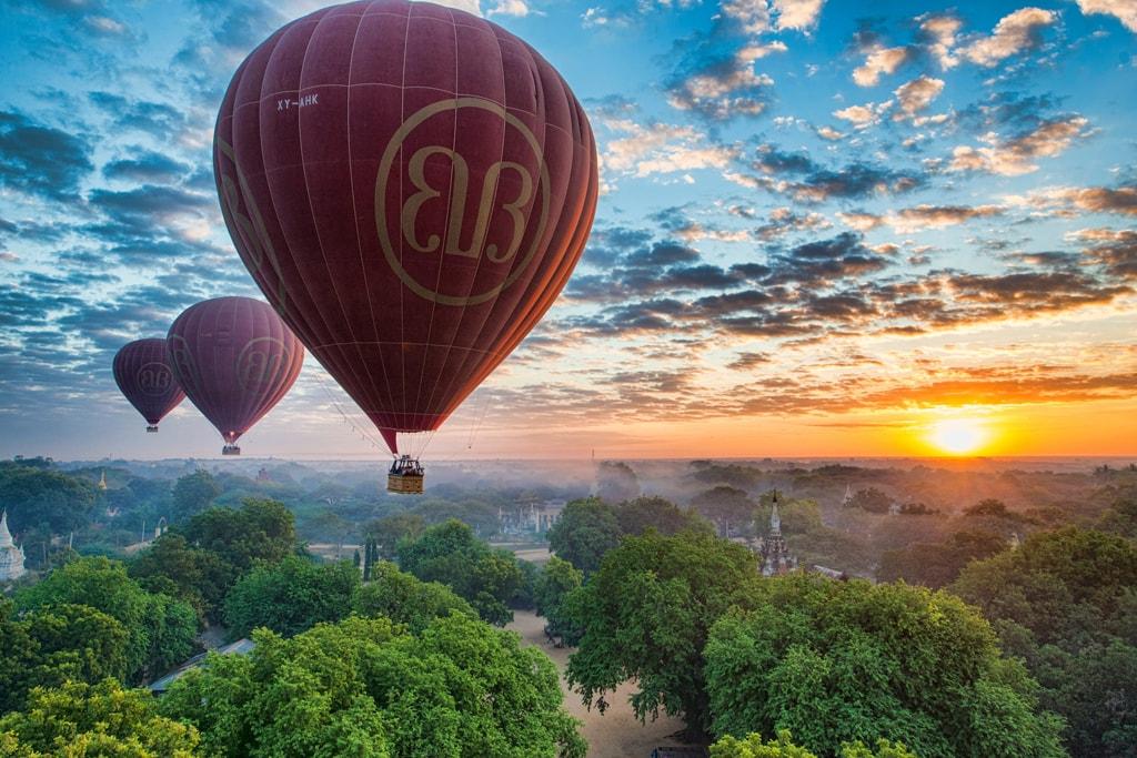 بالن سواری باگان | میانمار