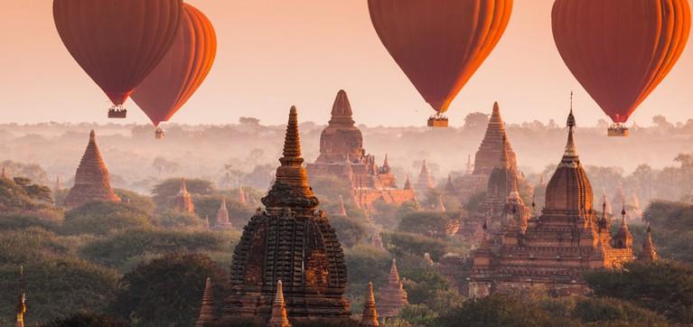 جشنواره بالن باگان | میانمار