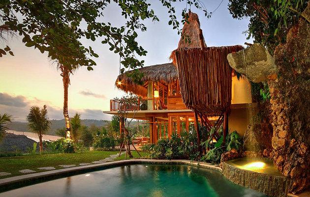 اقامتگاه لوکس جزیره نیهی سامبا| اندونزی| اقامتگاه لوکس