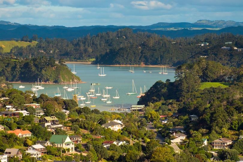 شبه جزیره کوروماندِل، نیوزیلند
