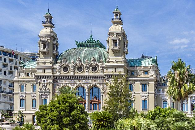 سالن اپرا مونت کارلو، موناکو