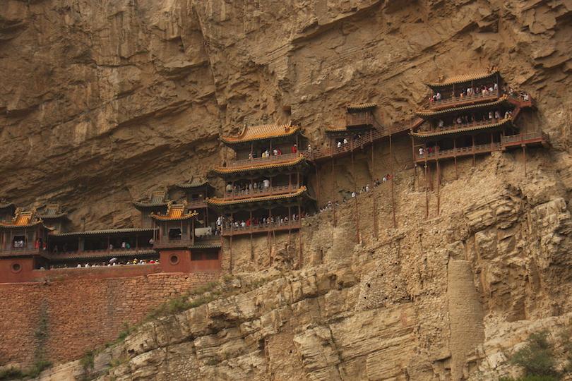 نیایشگاه معلق|چین