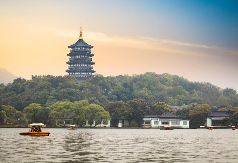 دریاچه غربی|چین