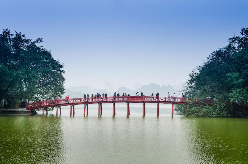 دریاچه هوآن کیم  ویتنام