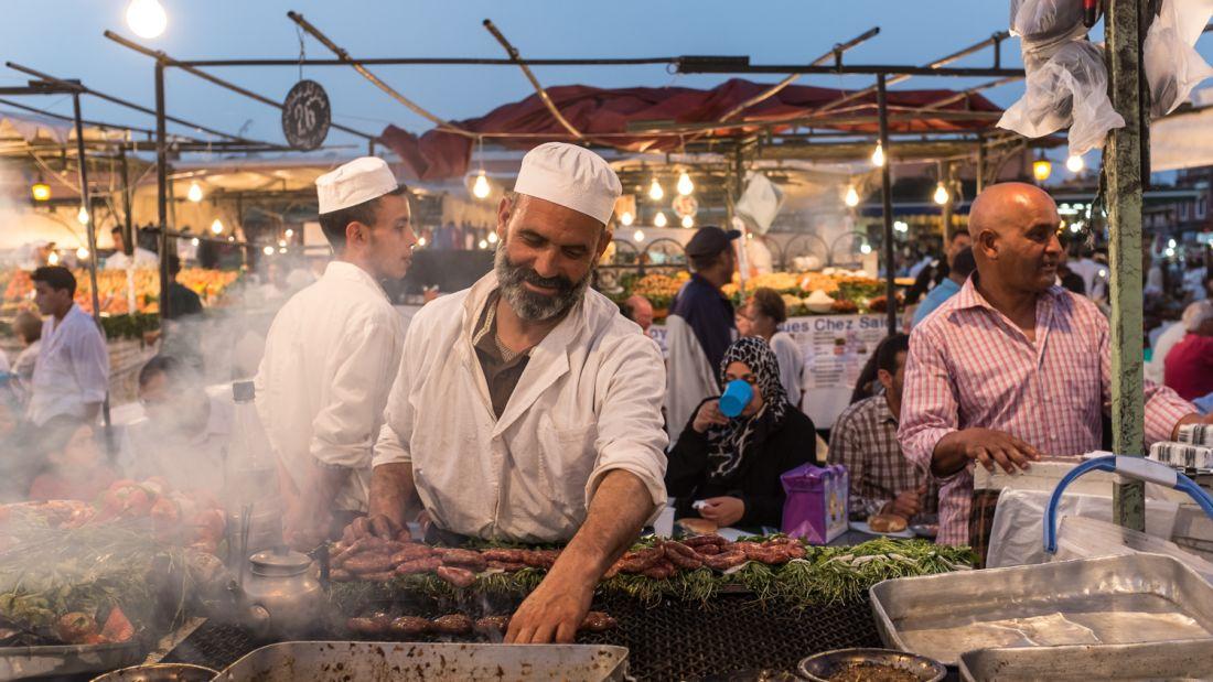 غذای خیابانی| مراکش