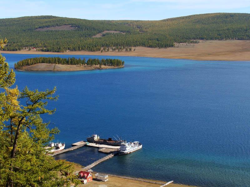 دریاچه خووسگل مغولستان
