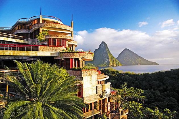اقامتگاه لوکس کوهستان جِید،| سنت لوسیا| اقامتگاه لوکس