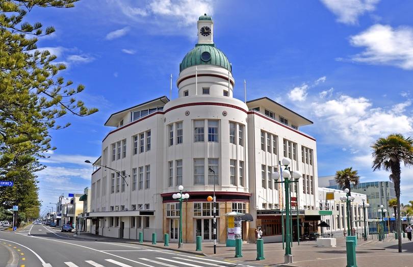 شهر ناپیِر،نیوزیلند