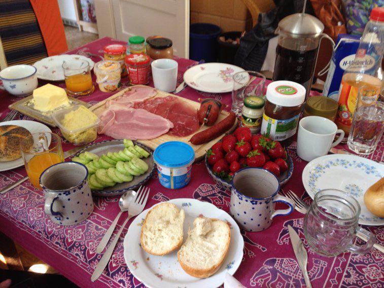 صبحانه آلمان