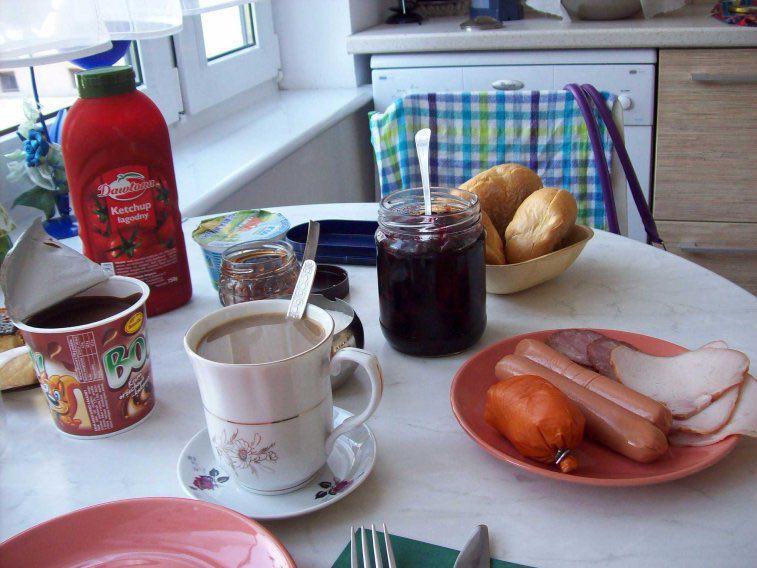 صبحانه لهستان