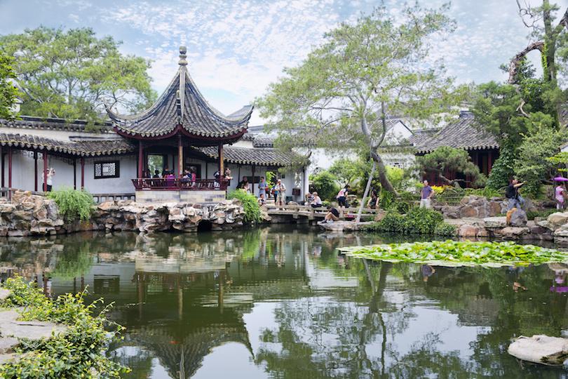 باغ ها و کانال های سوژو چین