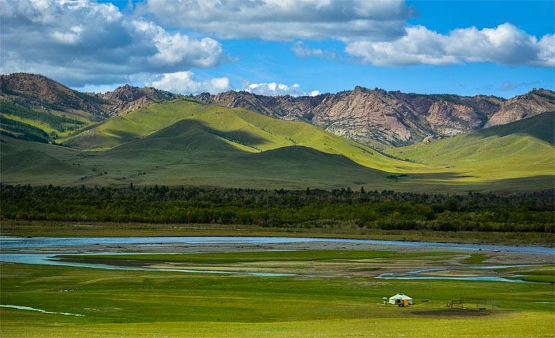 پارک ملی ترلج مغولستان