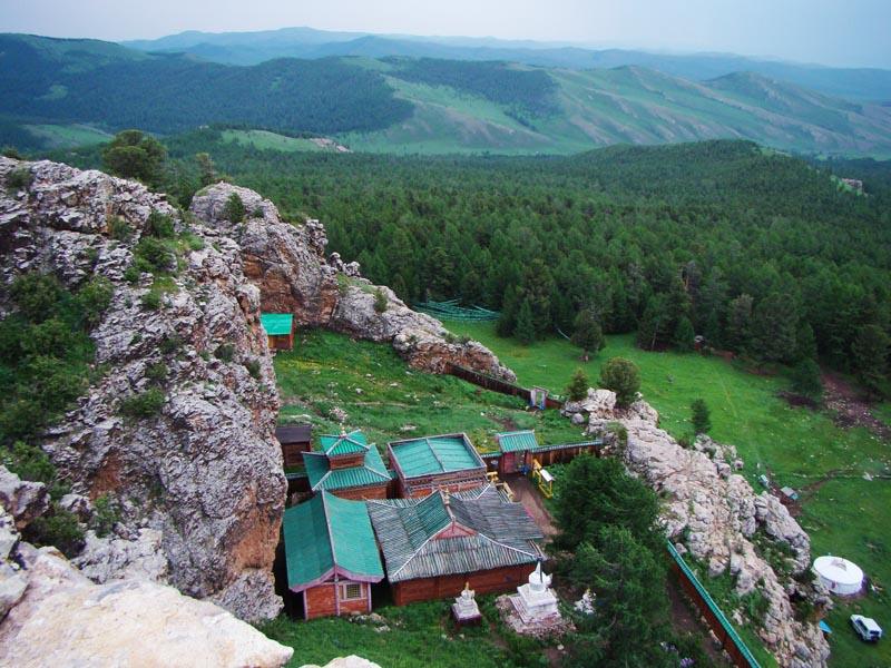 دره ارخون مغولستان