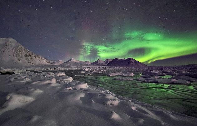 شفق قطبی آلاسکا