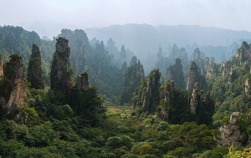 پارک جنگلی ملی ژانگجیاجی چین