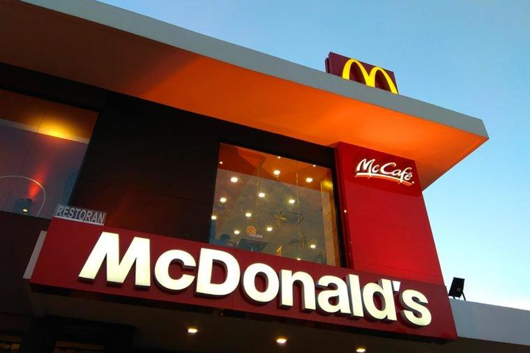 کشورهایی که رستورانهای زنجیرهای مک دونالد در آن حضور ندارند