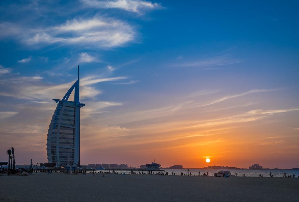 سفر به دبی - برج عرب